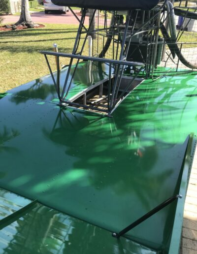 LAMdeck Green Airboat 1
